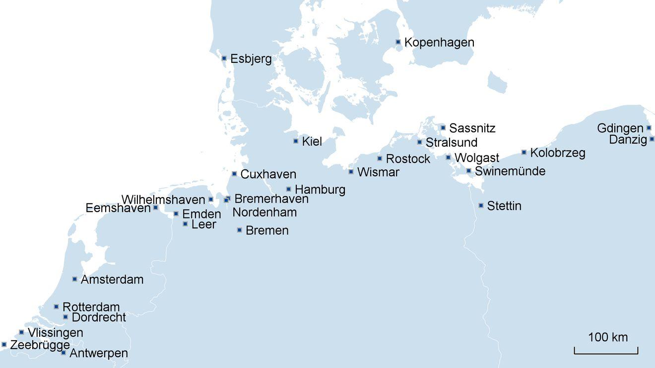 Port Agency Clearance Rhenus Logistics