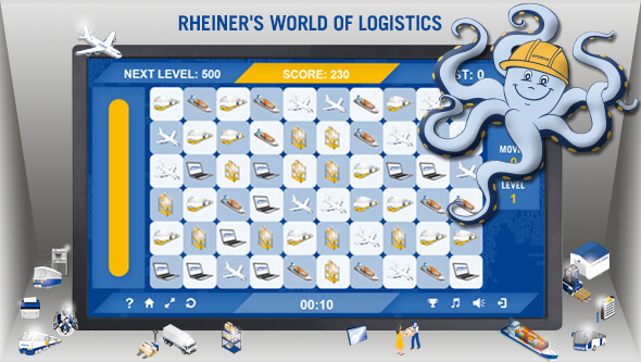 World of Logistics - Rhenus Game