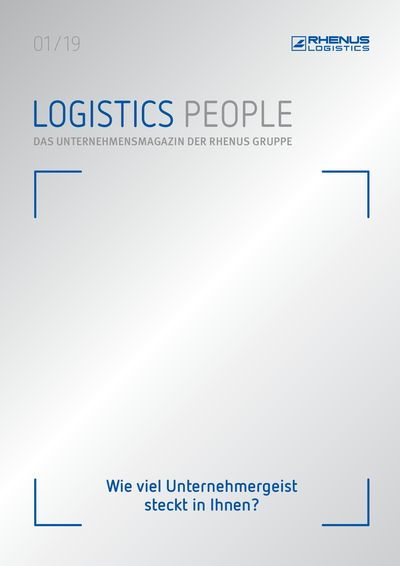 Logistics People 01/2019 Cover