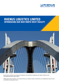 Rhenus Logistics Port Salford
