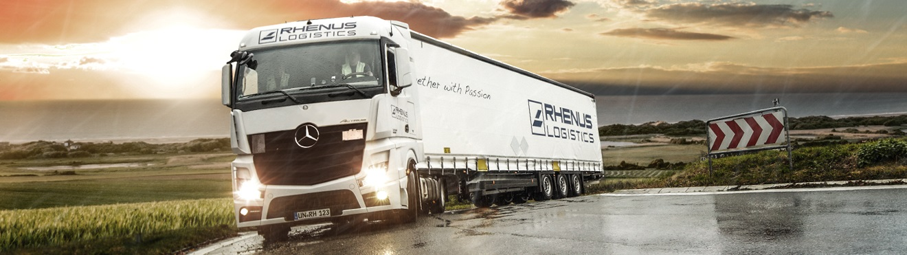 Truck Transport - worldwide - Rhenus Logistics