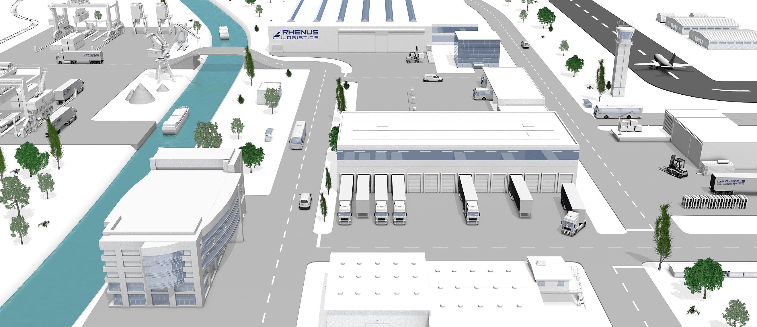 Logistics Jobboard - Rhenus Logistics